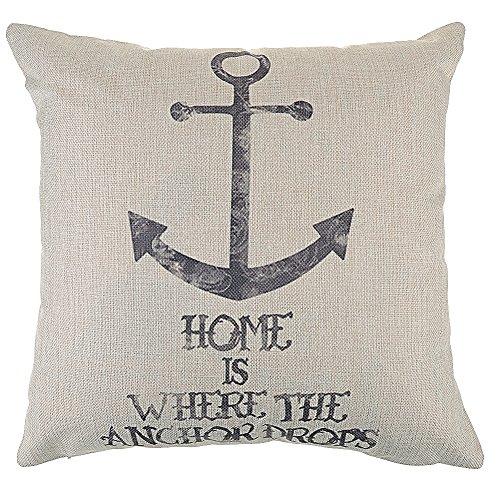 kissenbezug kissenh lle linen dekokissen sofa zimmer deko anker sn news germany. Black Bedroom Furniture Sets. Home Design Ideas